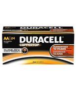 Duracell Alkaline AA 24 Batteries Coppertop MN1500 - $25.11