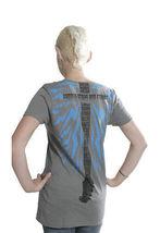 Famous Stars & Straps Gris Électrique Usine Guitare T-Shirt Taille : Petit image 3