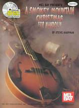 Smokey Mountain Christmas For Mandolin/Book/CD Set/TAB/Slight Cover Damage - $18.95