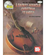 Smokey Mountain Christmas For Mandolin/Book/CD Set/TAB/Slight Cover Damage - $18.95