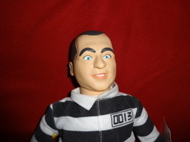 Three Stooges plush CURLY JOE in prison costume 3 - $9.00