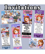 Princess Sofia The First Birthday Invitations You Print Personalized Cus... - $8.50