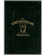 Henry Disston Co catalog 1914 antique vintage tools saws reprint - $32.00