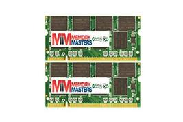 MemoryMasters 1GB (2X512MB) DDR 266MHz PC2100 200-pin SODIMM Laptop Memory RAM