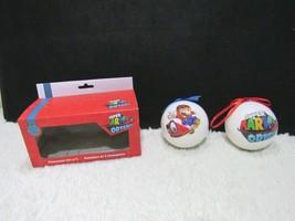 Super Mario Odyssey Set Of Two Plastic Decorative Ornaments  - $6.95