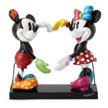 "7"" High Disney Britto Mickey and Minnie Mouse Figurine - $89.09"