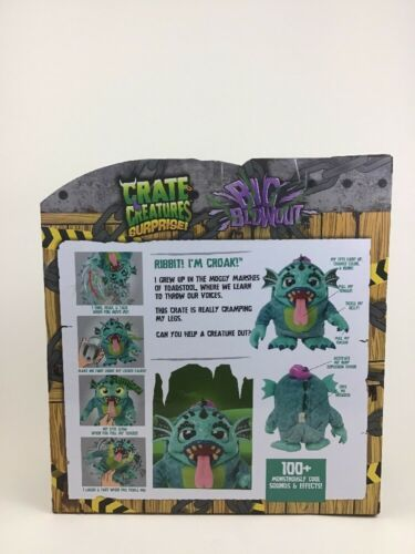 Crate Creatures Surprise Big Blowout Croak with Lockie-Talkie 100+ Sound Effects