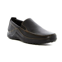 Cole Haan Mens Black Leather Venetian Slip On Loafers Sz 11.5 M NIB - $138.59