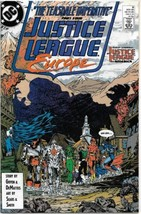 Justice League Europe Comic Book #8 DC Comics 1989 VERY FINE/NEAR MINT U... - $2.75