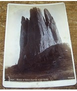 c1900 Antique Tower of Babel Garden of the Gods Wheeler Cabinet Photo - $16.82