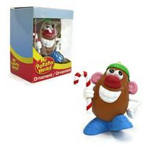 HALLMARK   Mr Potato Head XMAS Ornament   Green Ball Cap   Candy Cane   2011 NEW - $11.83