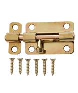 Everbilt 2-1/2 inch Satin Brass Barrel Bolt - $7.95