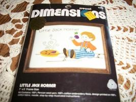 Dimensions Crewel Kit 6004~Little Jack Horner - $10.00