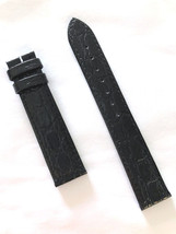 Authentic Longines Presence Men's 18mm Black Leather Watch Band Strap L6... - $68.00
