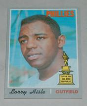 1970 #288 topps larry Eugene hisle all-star 1969 rc rookie mlb baseball ... - $8.16