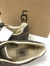 Ugg Australia Deaven Mouse Gold Suede Lace Up Shoes Tennis Sneakers 1019655 image 11
