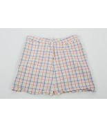 Bobby Jones Klee Golf Skort Rock Shorts Sz 6 Mehrfarbig Kariert C23 - $12.48