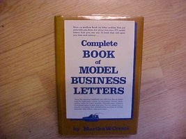 Complete Book of Model Business Letters Cresci, Martha W. - $5.69