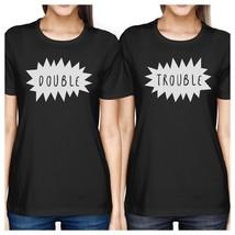 Double Trouble BFF Matching Black Shirts - $30.99+