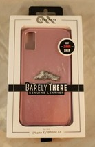 Case-Mate Barely There Leather Case Cover  Apple iPhone X XS Purplish Pi... - $8.90