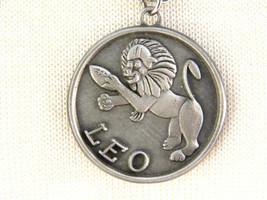 Razza Zodiac Leo the Lion Pendant with Football  and Helmet Vintage Jewe... - $13.49