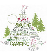 Let's Go Camping cross stitch chart Imaginating - $5.40