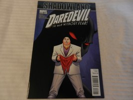Shadowland Daredevil The Man Without Fear! Marvel Comics #510 November 2010 - $9.89