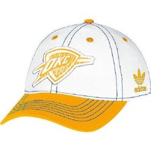 Adidas Women's Basic Slouch White Adjustable Hat Cap OKLAHOMA CITY Tunders - ₹1,208.94 INR