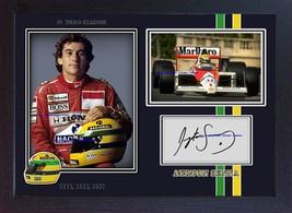 World Champion Ayrton Senna signed autograph photo poster print Formula ... - $19.27