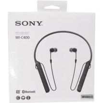 Sony WIC400/B Behind-The-Neck Wireless In Ear Headphones - Black - £46.01 GBP