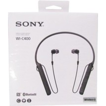 Sony WIC400/B Behind-The-Neck Wireless In Ear Headphones - Black - ₹4,295.36 INR