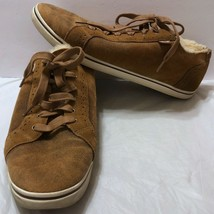 UGG Roxford Bomber Sneaker Twinface Chestnut Brown Shoes Sz 12 US Oxford... - $54.69