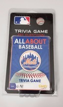 AllAbout Baseball Mets Trivia Game MLB Card Game Fundex New - $12.00