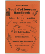 Tools Collectors Handbook 2rd ed Farnham book Early American tools prices - $9.99
