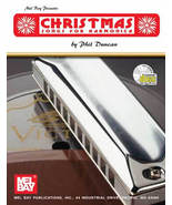 Christmas Songs For Harmonica Book/Hanukkah Songs Too! w/CD Set - $13.95