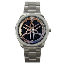 Yamaha Motocycle Logo Custom Sport Metal Men Watch-02 - $15.00