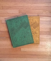 Vintage 1953 Junior Instructor hardcover 2 book set