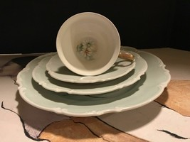 Very Rare Hutschenreuther Selb Hand Painted Signed Techla 1925-1950. 4 P... - $45.53