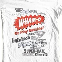 Wham-O T-shirt toys hula hoop super ball slip n slide vintage nostalgia WMO108B image 1