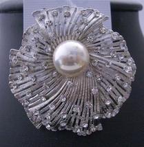 Cubic Zircon Sparkling Bridal Dress Brooch Pin - $25.08