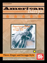 American Banjo:Three Finger and Scruggs Style Book/Banjo TAB - $16.99