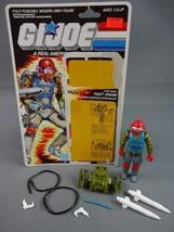 Vintage GI JOE Action Figure 1987 Fast Draw 100% w Full Cardback EX/NM - $17.72