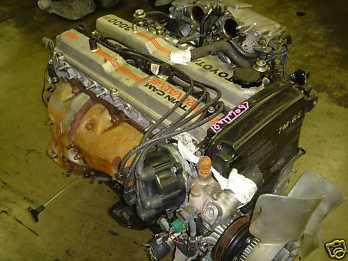 86-92 TOYOTA SUPRA, CRESSIDA used engine 7MGE NON TURBO 3.0