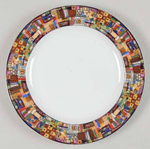 "1993 Faberware by Retroneu Park Avenue 221 Porcelain Side Salad Plate 8""... - $9.99"
