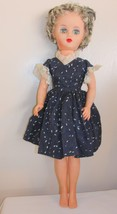 """Mother of the Bride 19"""" Fashion Doll Vintage Frosted Gray Hair Deluxe Re... - $34.64"""