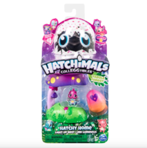 Hatchimals Colleggtibles Hatchy Home Light Up Nest Season 4 'Fabula Forest' - $10.59