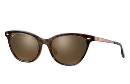 Ray Ban RB4360 123373 Top Havana On Light Brown 54mm women's - $181.17