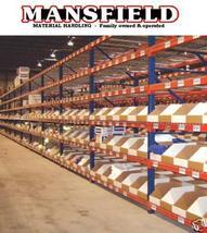 "Unirak Beam 108"" Pallet Rack Shelving 6620 Lb Capacity New Mansfieldfw - $38.90"
