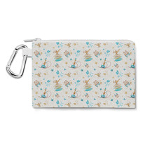 Princess Jasmine Icons on White Disney Inspired Canvas Zip Pouch - $14.99+