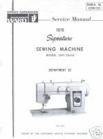 Montgomery Ward Signature UHT-265A SERVICE Manual L
